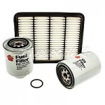 Drivetech 4x4 2.5TD Courier/Bravo Filter Kit (Panel A/F)